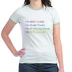 What I Really Am Jr. Ringer T-Shirt