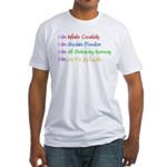 What I Really Am Fitted T-Shirt