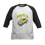 Grandpa's Car Kids Baseball Jersey