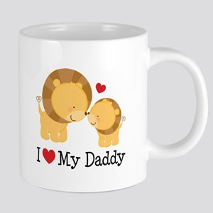 I Heart My Daddy 20 oz Ceramic Mega Mug