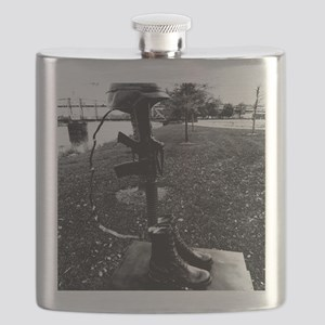 Some gave all. Flask