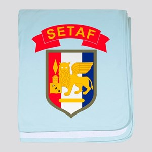 USARAF baby blanket