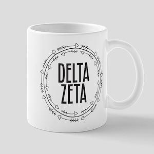 Delta Zeta Arrows 11 oz Ceramic Mug