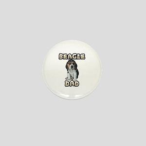 Beagle Dad Mini Button