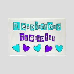 Respiratory Therapists XX Rectangle Magnet