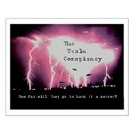 Small Tesla Conspiracy Poster