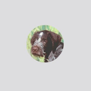 German Wirehaired Pointer Mini Button