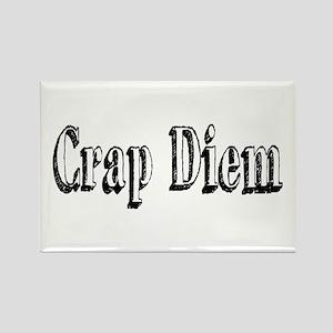 CRAP DIEM (Crappy Day) Rectangle Magnet