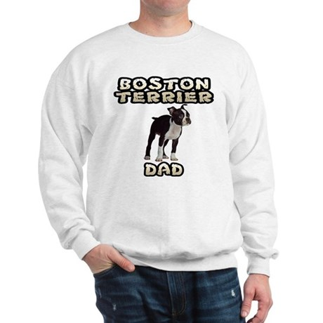 Boston Terrier Dad Sweatshirt