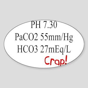 Respiratory Therapists XX Sticker (Oval)