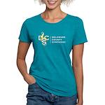 Womens Full Logo Tri-Blend T-Shirt