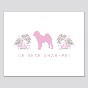 """Elegant"" Chinese Shar-Pei Small Poster"