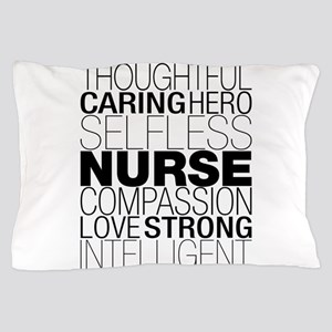 Nurse Text Pillow Case