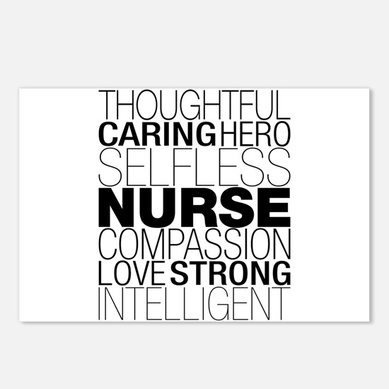 Nurse Text Postcards (Package of 8)