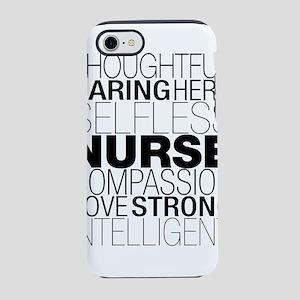 Nurse Text iPhone 7 Tough Case