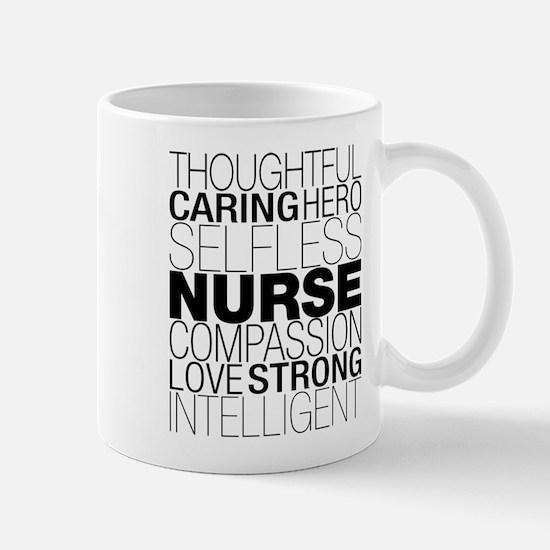 Nurse Text Mugs