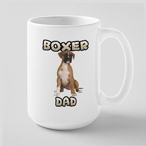 Boxer Dad Large Mug