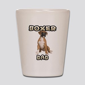 Boxer Dad Shot Glass