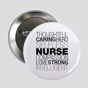 "Nurse Text 2.25"" Button"