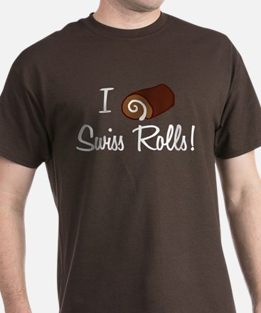 I Love Swiss Rolls T-Shirt