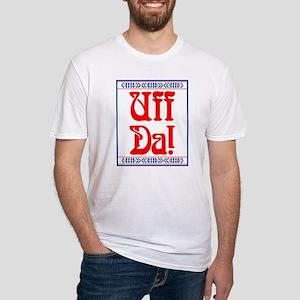 Uff Da Fitted T-Shirt