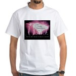 Tesla conspiracy White T-Shirt