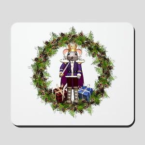 Mouse King Nutcracker Wreath Mousepad
