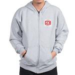 GCB Logo Red Sweatshirt