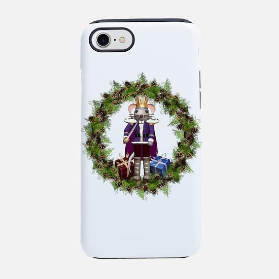 Mouse King Nutcracker Wreath iPhone 7 Tough Case