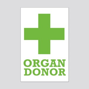 Organ Donor Mini Poster Print