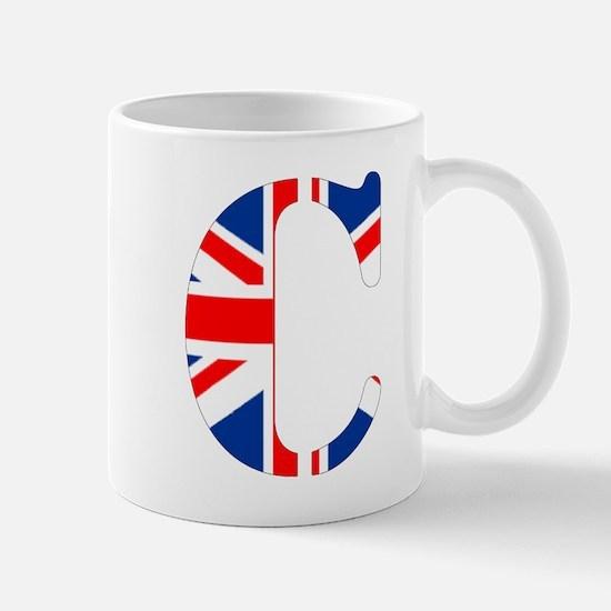 Unique Letter c Mug