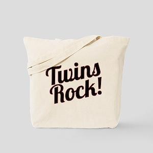 Twins Rock! Tote Bag
