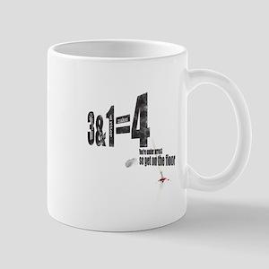 3 + 1 = 4 Mug