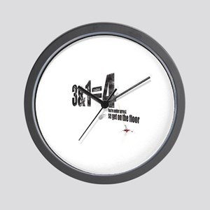 3 + 1 = 4 Wall Clock