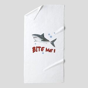 Shark - Bite Me Beach Towel
