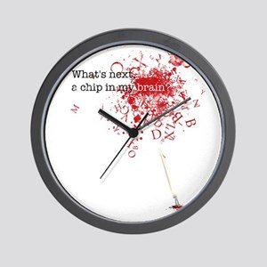 What's next, a chip ... Wall Clock