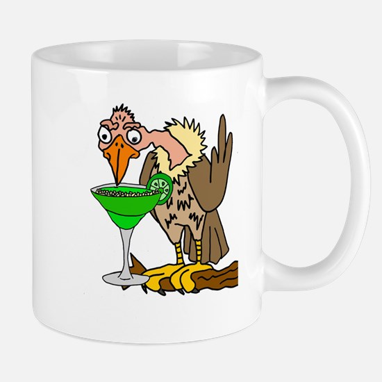 Vulture Drinking Margarita Mugs