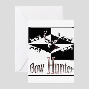 Bow hunter Greeting Card