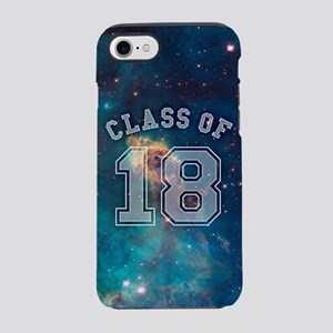 Class of 18 Space iPhone 7 Tough Case