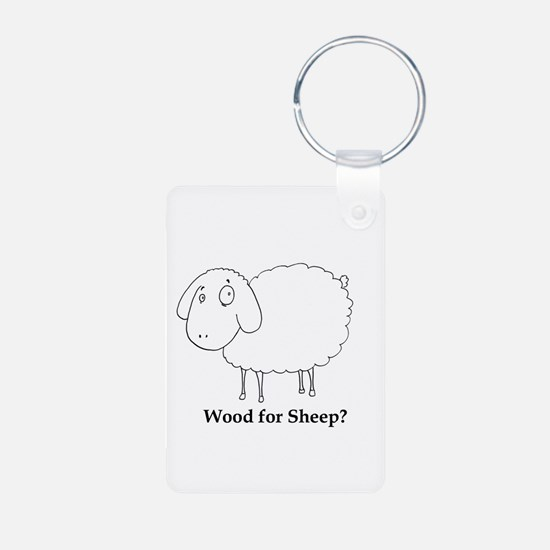 Wood for Sheep? Keychains