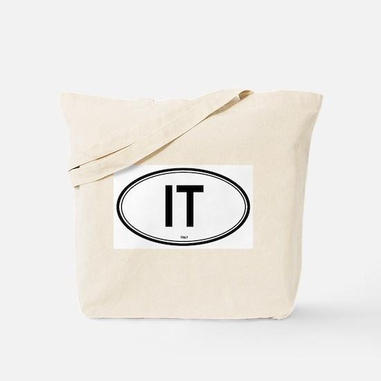 Italy (IT) euro Tote Bag