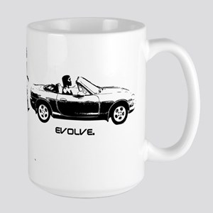 MIATA EVOLUTION Large Mug