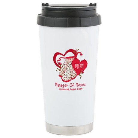 Manager of Messes Stainless Steel Travel Mug