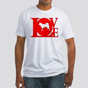 Greenland Dog Fitted T-Shirt