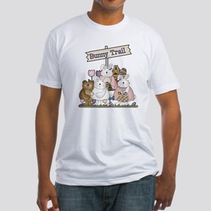 The Bunny Trail Fitted T-Shirt