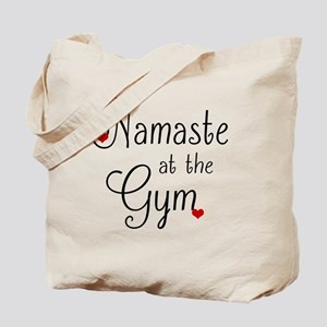 Namaste at the Gym Tote Bag