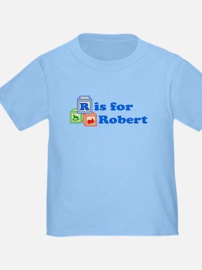 Baby Name Blocks - Robert T