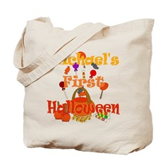 First Halloween Michael Tote Bag