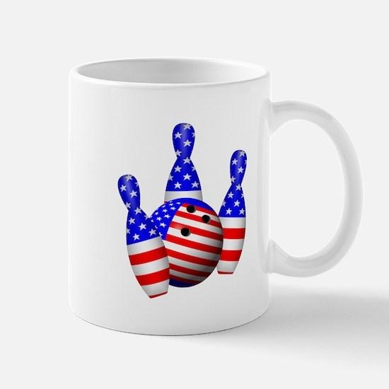 Stars And Stripes Bowler Mug