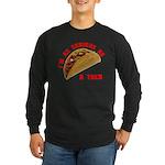 Serious! Long Sleeve Dark T-Shirt